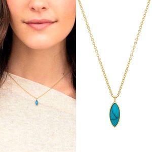 Gorjana Palisades Adjustable Charm Necklace